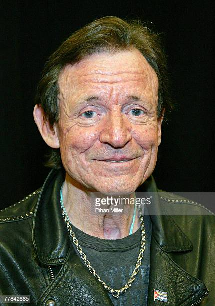 Cream's Jack Bruce attends the 10th anniversary of Rock 'n' Roll Fantasy Camp at the MGM Grand Hotel/Casino November 10 2007 in Las Vegas Nevada