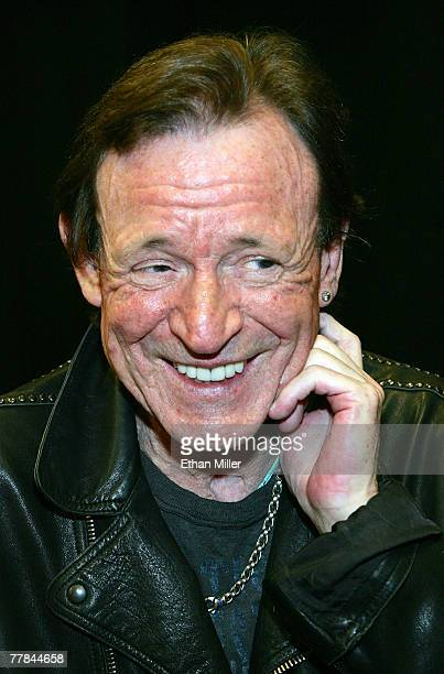 Cream's Jack Bruce attends the 10th anniversary of Rock 'n' Roll Fantasy Camp at the MGM Grand Hotel/Casino November 10, 2007 in Las Vegas, Nevada.