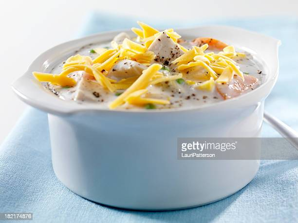 Creamy Chicken and Vegetable Soup 3