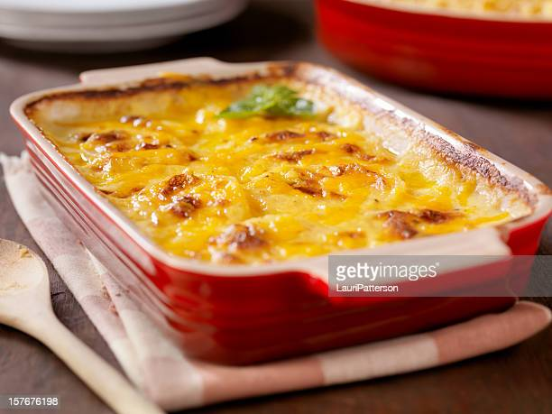 creamy potatoes au gratin - prepared potato stock pictures, royalty-free photos & images