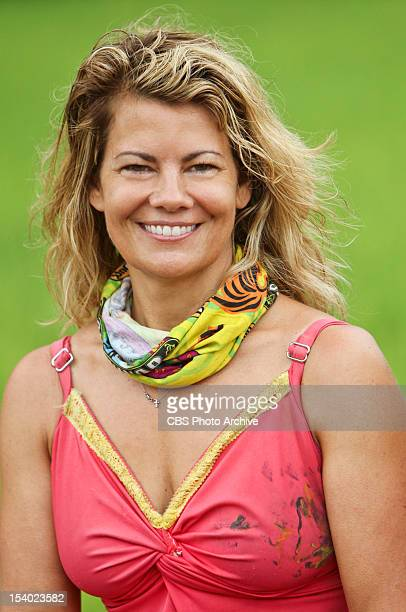 Create a Little Chaos Lisa Whelchel of the Tandang Tribe during the fourth episode of Survivor Philippines Wednesday October 10 on the CBS Television...