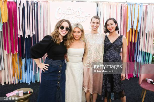 Create Cultivate CEO Jaclyn Johnson Actress Producer Ashley Tisdale Designer CEO Whitney Port and Creator of The Chriselle Factor Chriselle Lim...
