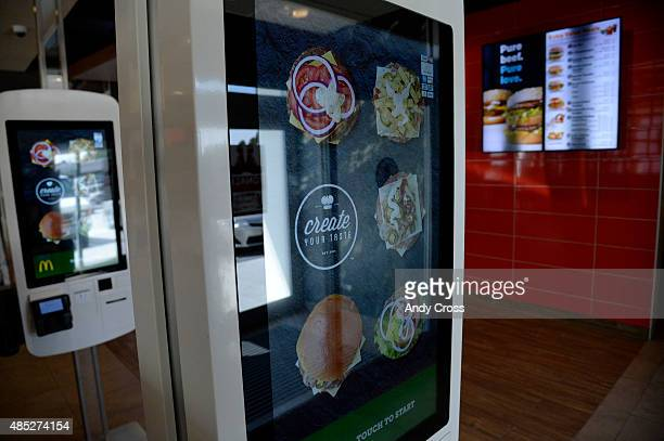 Create Your Taste kiosk at McDonalds at 4000 S Parker Rd August 26 2015 This McDonalds is testing a new concept where diners can customize their...