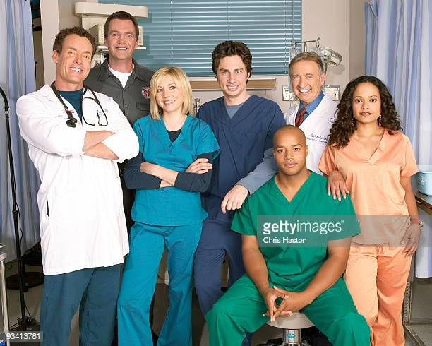 101035_6815 SCRUBS Created by Bill Lawrence the cocreator/executive producer of 'Spin City' and featuring innovative fantasy sequences and a slightly...