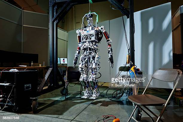created by team Valor from Virginia Tech Blacksburg Virigina is photographed for Wired Magazine Germany on June 4 2015 at the Fairplex in Pomona...