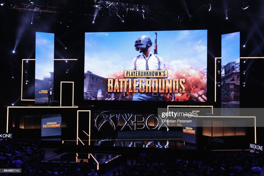 Microsoft xBox E3 Event : News Photo