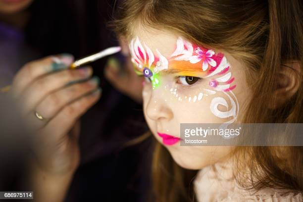 Creating a face paint