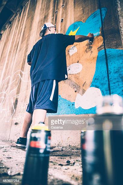 Creating a grafitti