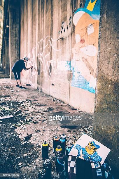 Creating a grafitti