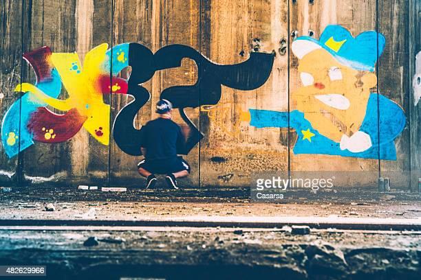 Erstellen einer grafitti