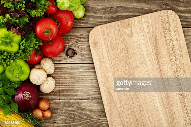 creating a recipe - cutting board stock pictures, royalty-free photos & images