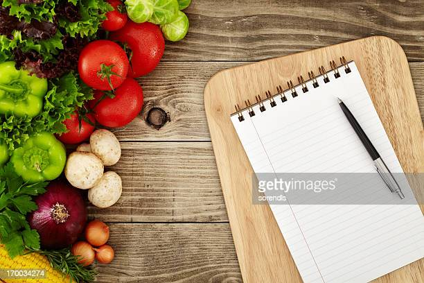 creating a recipe - menu stock pictures, royalty-free photos & images