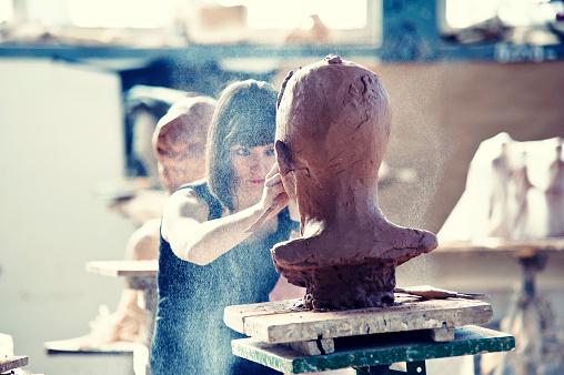 Creating Sculpture 174452387