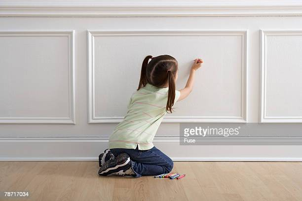 creating wall art - little girls bare bum stock pictures, royalty-free photos & images