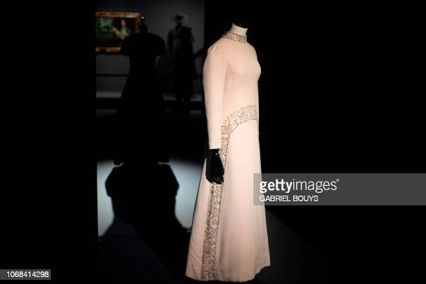 A creation by Spanish designer Pedro Rodriguez is displayed during the exhibition Modus on December 4 2018 in Madrid On display at Sala Canal de...