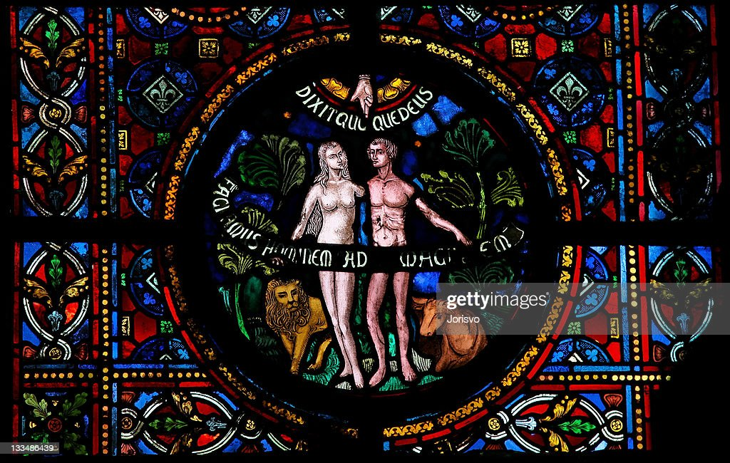 Creation of Adam and Eve : Stock-Foto