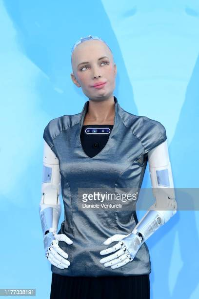 Creation Sophia attends the Gala for the Global Ocean hosted by H.S.H. Prince Albert II of Monaco at Opera of Monte-Carlo on September 26, 2019 in...