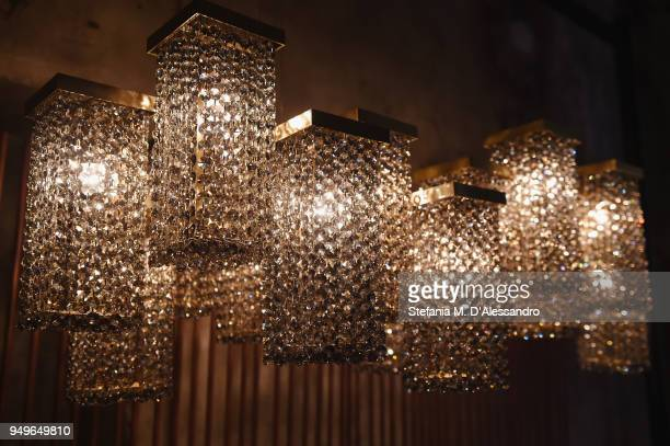 Creations are displayed during Fuorisalone as part of Milan Design Week on April 21 2018 in Milan Italy