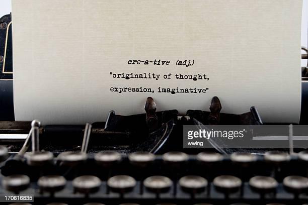 Creative... a Dictionary definition