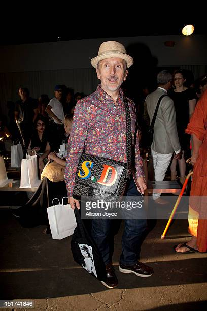 Creative AmbassadoratLarge of Barneys Simon Doonan attends Zero Maria Cornejo Spring 2013 during MercedesBenz Fashion Week at Pier 57 on September 10...
