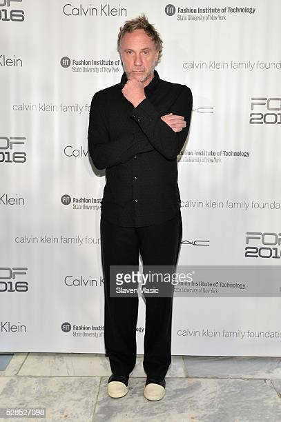 Creative and Style Director at Osklen and FOF Critic Oskar Metsavaht attends the 2016 Future of Fashion Runway Show at The Fashion Institute of...