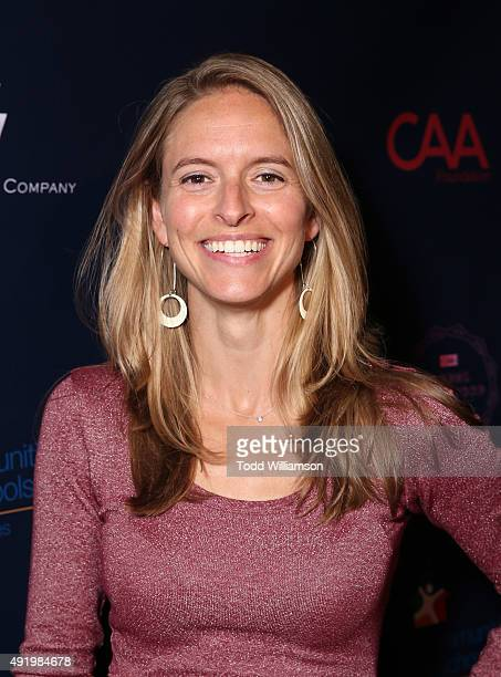 Creative Artists Agency Foundation's CoExecutive Director Rachel Kropa attend CAA's Young Hollywood Party Benefiting Communities In Schools Of Los...