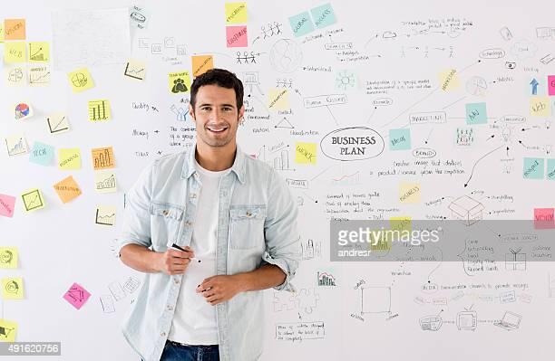 Homme d'affaires créative