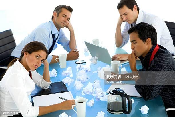 Creative reuniones de negocios