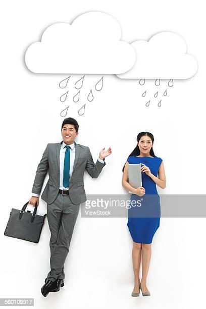 Creative business men and women