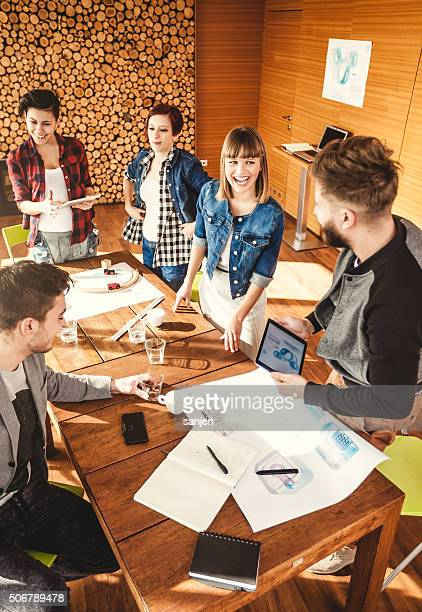Creative business team