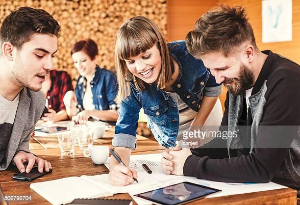 Kreative business-team