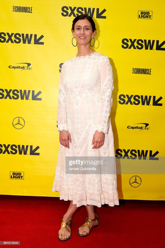 Creative Digital Director of American Vogue Sally Singer attends Free Radical: Chelsea Manning with Vogue's Sally Singer during SXSW at Austin Convention Center on March 13, 2018 in Austin, Texas.