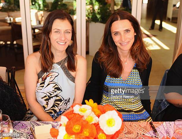 Creative Digital Director of Vogue Sally Singer and stylist Elizabeth Stewart attend Vogue Lunch In Celebration Of The Etro Spring Collection Hosted...
