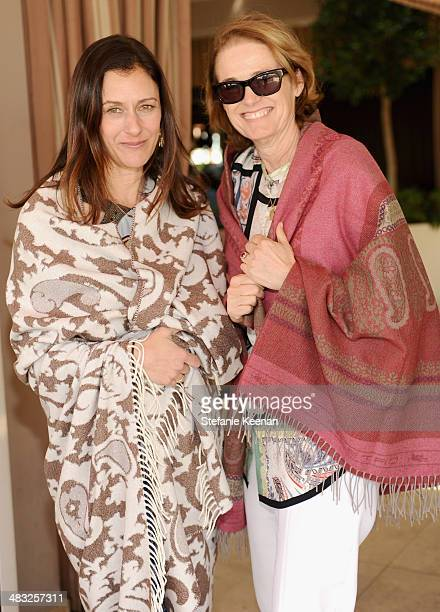 Creative Digital Director of Vogue Sally Singer and West Coast Editorial Director of Vogue Lisa Love attend Vogue Lunch In Celebration Of The Etro...