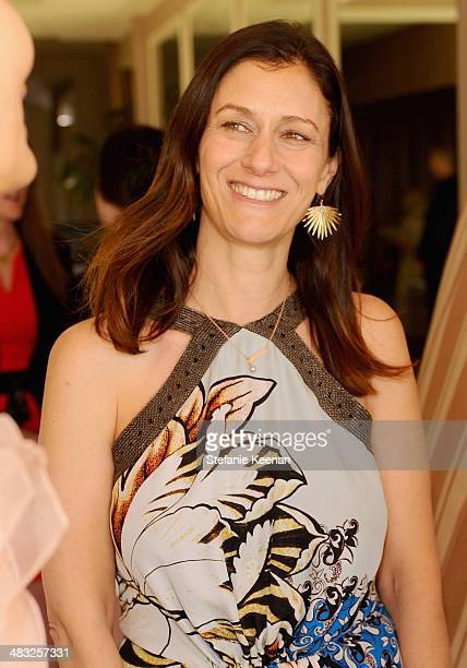 Creative Digital Director of Vogue Sally Singer attends Vogue Lunch In Celebration Of The Etro Spring Collection Hosted By Sally Singer at Sunset...
