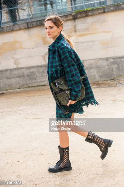 Creative director and Digital influencer Sofia Sanchez de Betak wears all Dior on February 25 2020 in Paris France