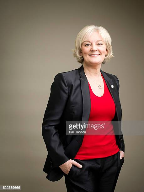 Creative director and founder of Jo Malone beauty products, Jo Malone is photographed for Chartered Management Institute magazine on March 13, 2015...