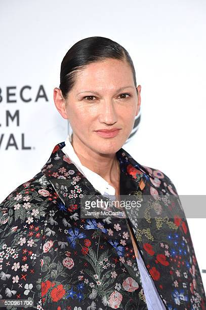 Creative director and president for JCrew Jenna Lyons at The First Monday In May World Premiere 2016 Tribeca Film Festival Opening Night at John...