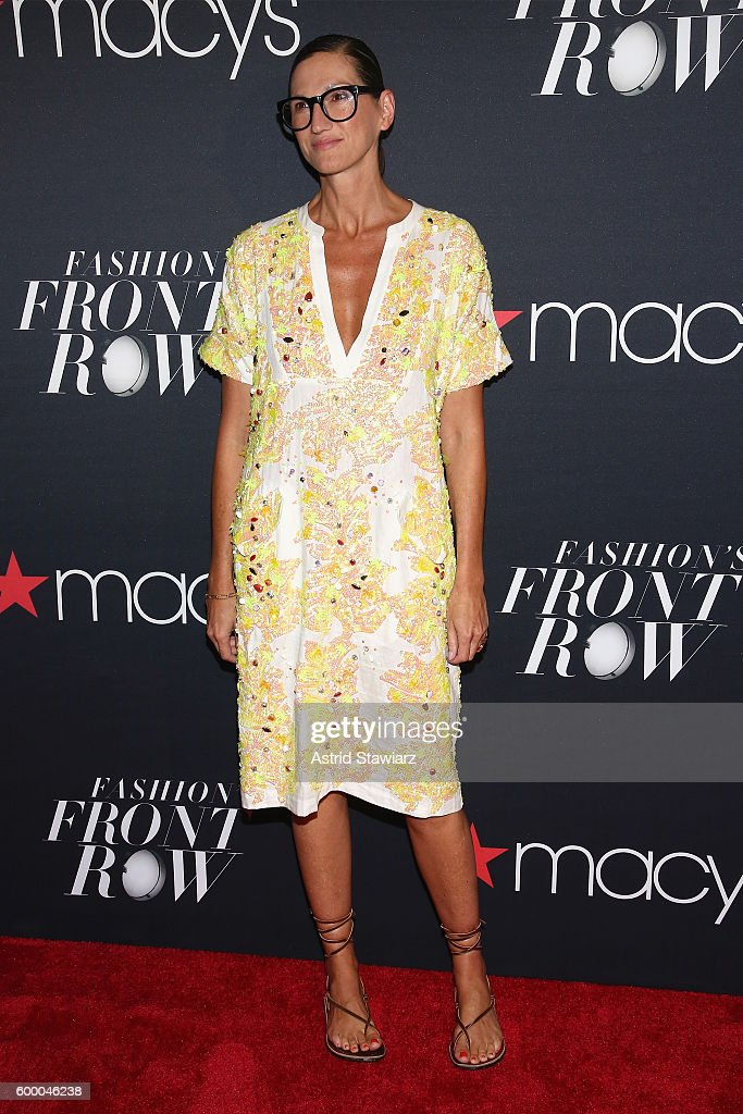 Macy's Presents Fashion's Front Row Kicks-off New York Fashion Week At The Theater At Madison Square Garden - Arrivals