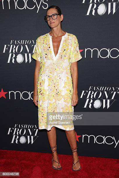 Creative director and president for JCrew Jenna Lyons attends Macy's Presents Fashion's Front Row on September 7 2016 in New York City