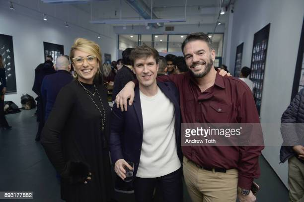 Creative Director at NJG Studio Nick Groarke and guests attend Robert Whitman Presents Prince 'Pre Fame' Private Viewing Event Exclusively On Vero on...