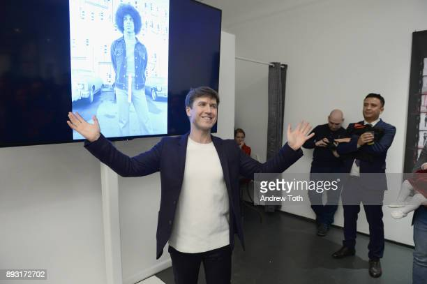 Creative Director at NJG Studio Nick Groarke speaks at Robert Whitman Presents Prince 'Pre Fame' Private Viewing Event Exclusively On Vero on...