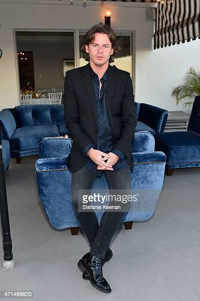 Creative Director Christopher Kane attends Christopher Kane x MyTheresacom dinner at Chateau Marmont on April 28 2014 in Hollywood California