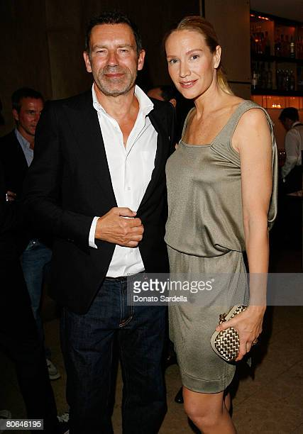 Creative Director for Bottega Veneta Tomas Maier and actress Kelly Lynch attend the Bottega Veneta and Barneys New York Dinner for Albert Maysles'...