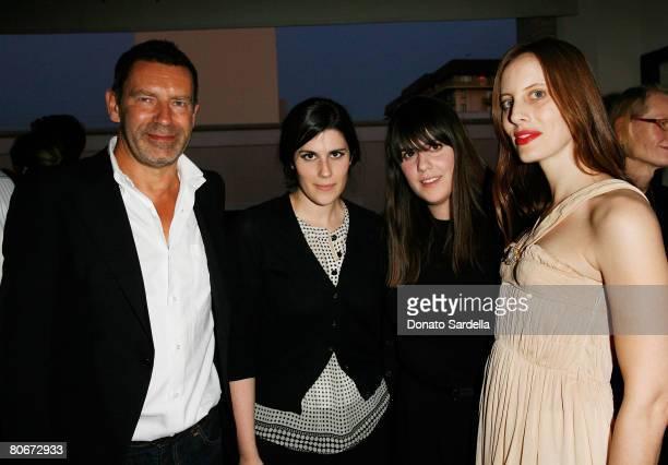 Creative Director for Bottega Veneta Tomas Maier designer Laura Mulleavy, designer Kate Mulleavy and socialite Liz Goldwyn attend the Bottega Veneta...