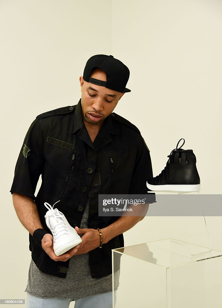 Creative Director for Woollier, Aaron Childress attends Woollier Cocktail during New York Fashion Week: Men's S/S 2016 on July 13, 2015 in New York City.