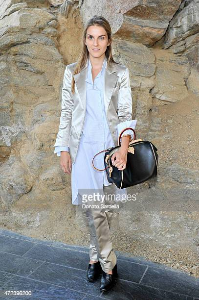 Creative director Gaia Repossi attends the Louis Vuitton Cruise 2016 Resort Collection shown at a private residence on May 6 2015 in Palm Springs...