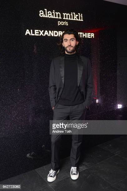 Creative Director Giampiero Tagliaferri attends the Alain Mikli x Alexandre Vauthier Launch Party on April 5 2018 in New York City