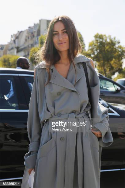 Creative director Giorgia Tordini attends the Nina Ricci show as part of the Paris Fashion Week Womenswear Spring/Summer 2018 on September 29 2017 in...