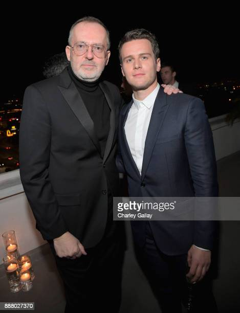 Creative Director Jim Moore and Jonathan Groff attend GQ and Dior Homme private dinner in celebration of The 2017 GQ Men Of The Year Party at Chateau...